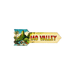 IAO VALLEY 5.25 SM DIRECTIONAL SIGN