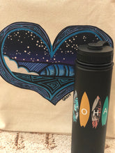 Load image into Gallery viewer, ALOHA SURFBOARDS 22 OZ WATER BOTTLE