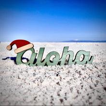 Load image into Gallery viewer, SANTA HAT ALOHA SINGLE