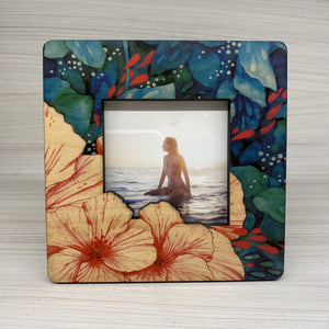 BLOOM CUTOUT DETAIL MINI PICTURE FRAME