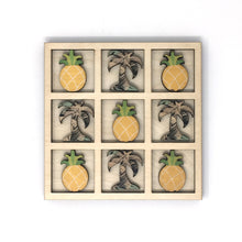 Load image into Gallery viewer, PALMS PINEAPPLES TIC TAC TOE