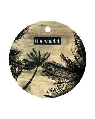HAWAII PALM CIRCLE BAGTAG