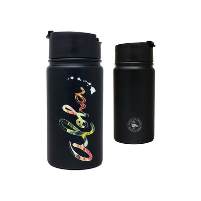 ALOHA FLORAL 14 OZ WATER BOTTLE