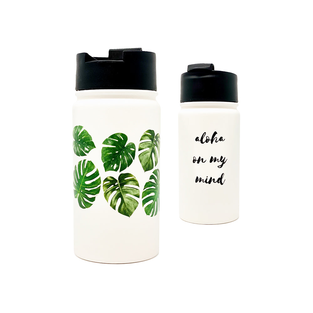 ALOHA MONSTERA 14 OZ WATER BOTTLE
