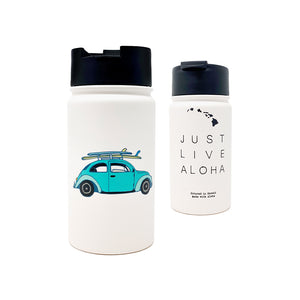 JUST LIVE ALOHA 14 OZ WATER BOTTLE