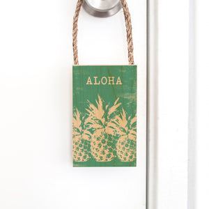 ALOHA ROPE DOOR HANG