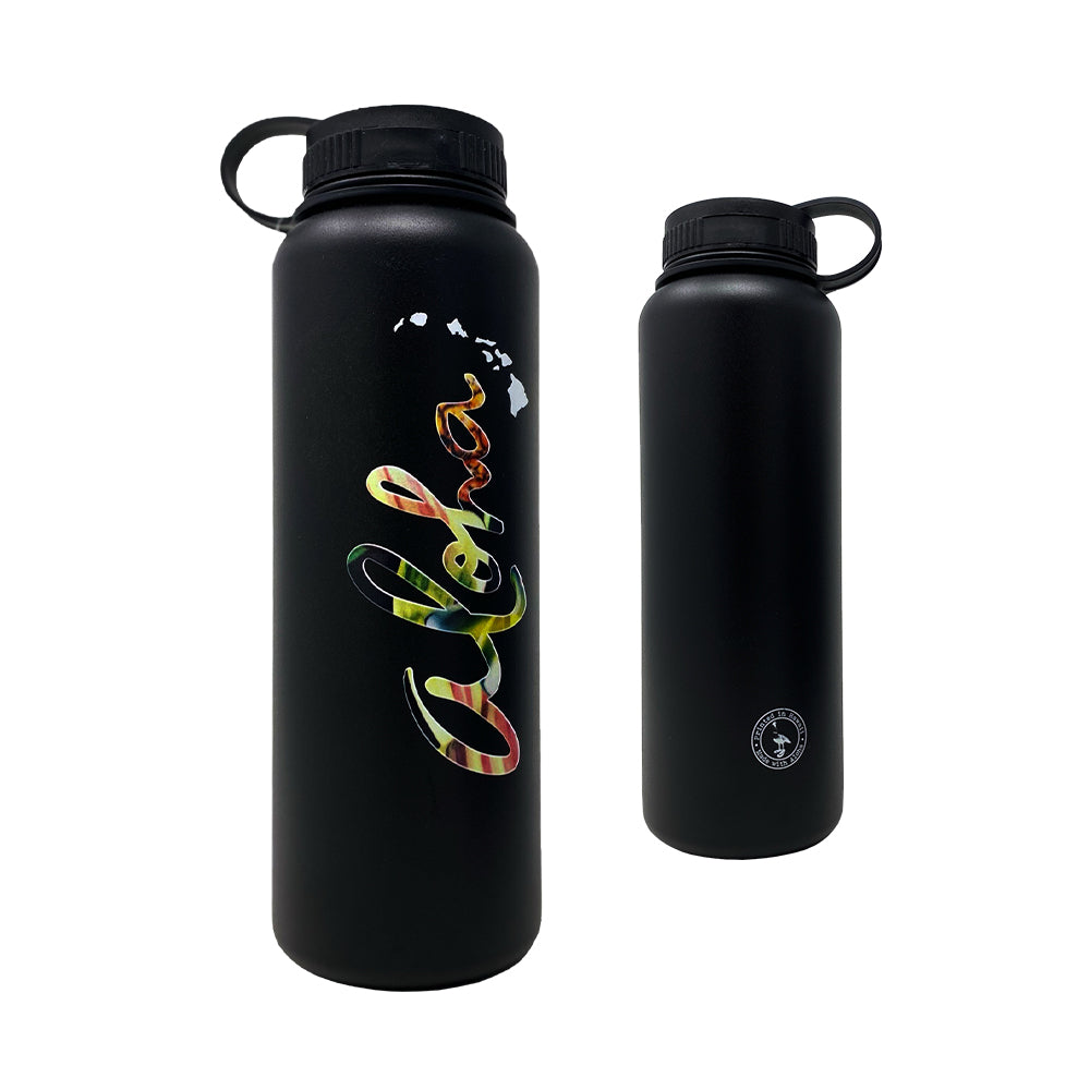 ALOHA FLORAL 40 OZ WATER BOTTLE