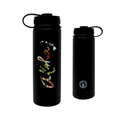 ALOHA FLORAL 22 OZ WATER BOTTLE