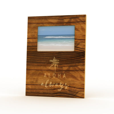 ALOHA ALWAYS 4X6 PICTURE FRAME