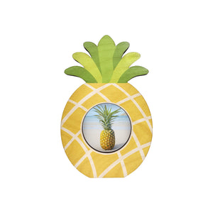 Pineapple Cutout Mini Picture Frame