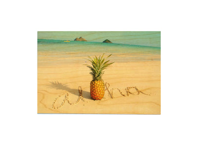 PINEAPPLE SAND POSTCARD
