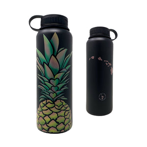 PINEAPPLE HEARTS 40 OZ WATER BOTTLE