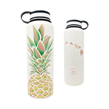 Load image into Gallery viewer, PINEAPPLE HEARTS 40 OZ WATER BOTTLE