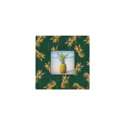 PINEAPPLE BLUES PATTERN MINI PICTURE FRAME