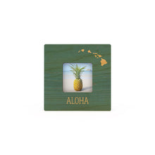 Load image into Gallery viewer, TEAL ALOHA ISLANDS MINI PICTURE FRAME
