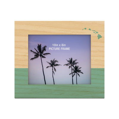 Two Tone Islands 8X10 Picture Frame