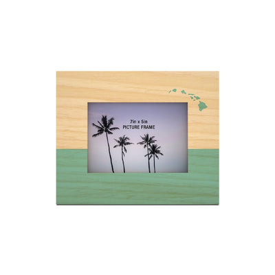 TWO TONE ISLANDS 5X7 PICTURE FRAME