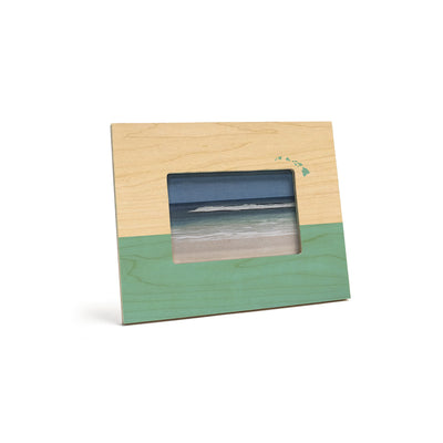 TWO TONE ISLANDS 4X6 PICTURE FRAME