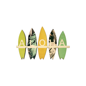 ALOHA SURFBOARDS LARGE MAGNET