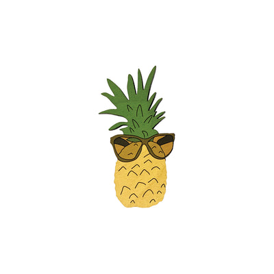 PINEAPPLE SUNGLASSES MAGNET
