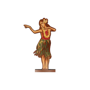 HULA GIRL LARGE MAGNET