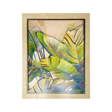 Load image into Gallery viewer, BANANA PALMS 11X14 LAYERED WALL ART