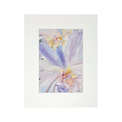WALL FLOWER SW MATTED PRINT