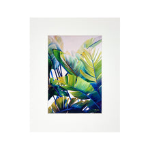 Load image into Gallery viewer, BANANA PALMS MATTED PRINT