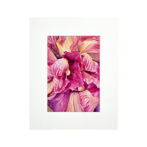 PINK MATTED PRINT
