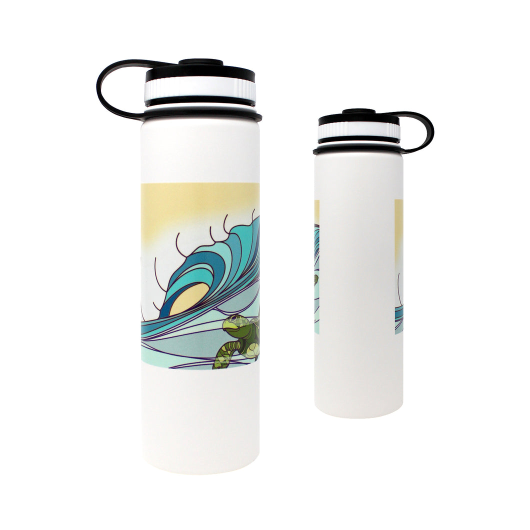 SURFING HONU 22 OZ FLASK