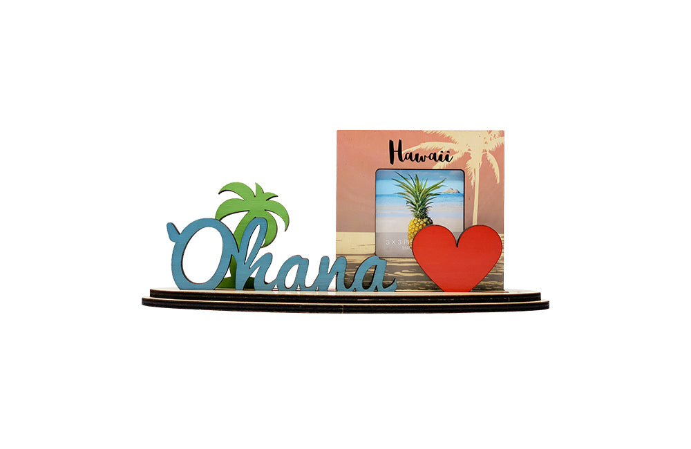 OHANA MEANS FAMILY FISH SET