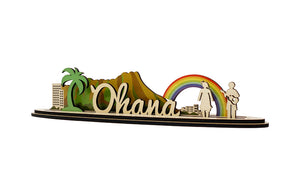 OHANA MEANS FAMILY GUN SET