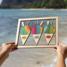 Load image into Gallery viewer, SHAVE ICE SMALL CUTOUT ART