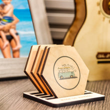 Load image into Gallery viewer, HOLOHOLO SURF HEX COASTER SET
