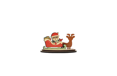 SANTA SLEIGH MINI SET