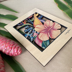 BOTANICAL BLEND 8X10 CO WALL ART