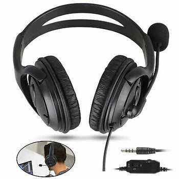 GamerGear Wired Gaming Headset Mic Stereo Noise Cancelling Earphones For PS4 Xbox One PC Mac