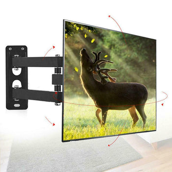 USAHome Big Screen TV Wall Mount with Swivel and Tilt Full Motion for 13