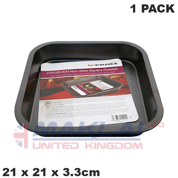 Prima Non Stick Carbon Steel Small Square Cake Pan