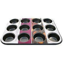 Load image into Gallery viewer, Prima Non Stick Carbon Steel 12 Muffin Pan