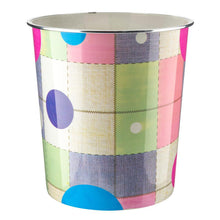Load image into Gallery viewer, 7.7L Polka Dot Plastic Waste Paper Dust Bin