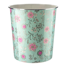 Load image into Gallery viewer, Home Plus 7.7L Floral Plastic Waste Paper Dust Bin