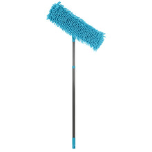 Load image into Gallery viewer, Pro Kleen Microfibre Chenille Extendable Flat Floor Mop