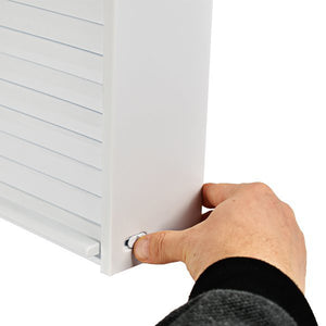 Primanova 092 Wall Mounted Shutter Door Cabinet White