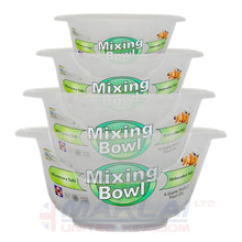 Load image into Gallery viewer, Set of 4 Clear Plastic Mixing Bowls