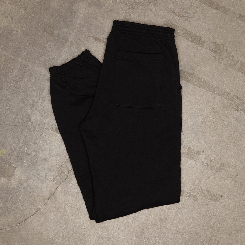 Emblem Sweatpants In Black