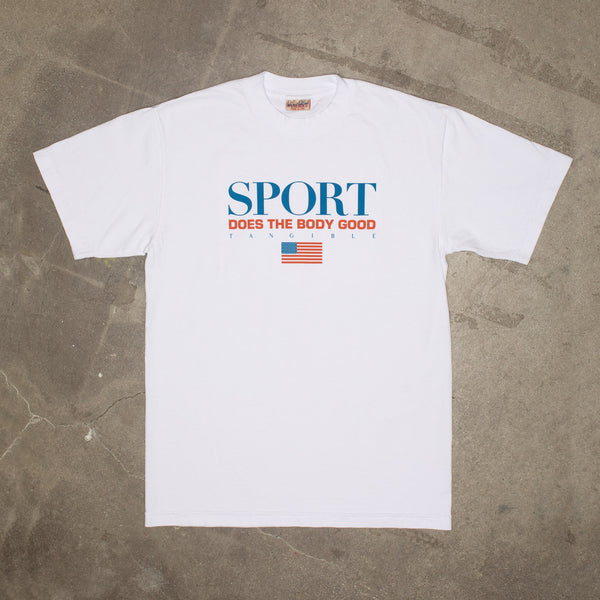 Sport T-Shirt In White