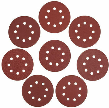 Sanding Disk Assorted Sandpaper Hook Loop 5 Inch Disk Sander 60 Pieces