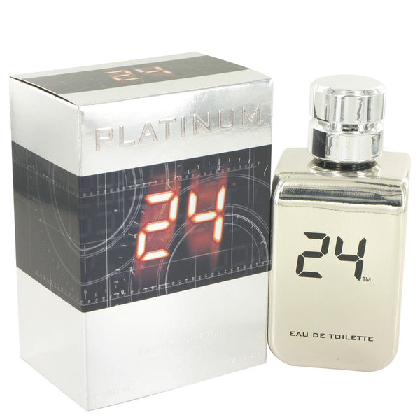24 Platinum The Fragrance by ScentStory Eau De Toilette Spray 3.4 oz for Men