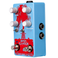Load image into Gallery viewer, Old Blood Noise Black Fountain W/Tap Tempo Chicago Blue - Pre-Order